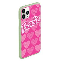 Чехол iPhone 11 Pro матовый Barbie цвета 3D-салатовый — фото 2