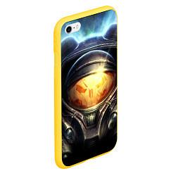 Чехол iPhone 6/6S Plus матовый StarC 2 цвета 3D-желтый — фото 2