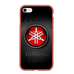Чехол iPhone 6/6S Plus матовый Yamaha цвета 3D-красный — фото 1