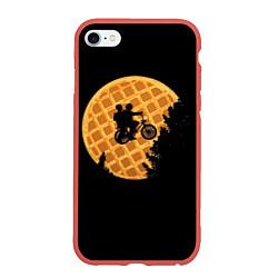 Чехол iPhone 6/6S Plus матовый Wafer Rider цвета 3D-красный — фото 1