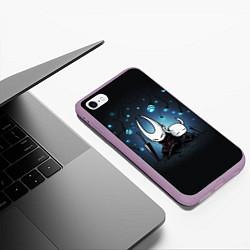 Чехол iPhone 6/6S Plus матовый Hollow Knight цвета 3D-сиреневый — фото 2