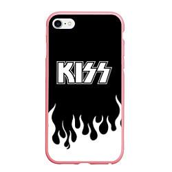 Чехол iPhone 6/6S Plus матовый Kiss цвета 3D-баблгам — фото 1