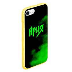 Чехол iPhone 7/8 матовый Ария цвета 3D-желтый — фото 2