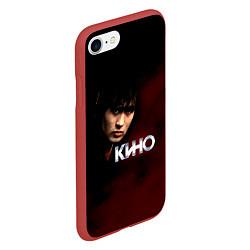 Чехол iPhone 7/8 матовый Кино цвета 3D-красный — фото 2