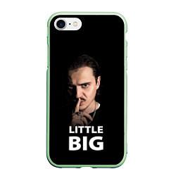 Чехол iPhone 7/8 матовый Little Big: Илья Прусикин цвета 3D-салатовый — фото 1