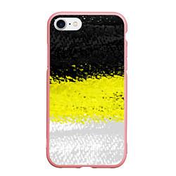 Чехол iPhone 7/8 матовый Имперский флаг 1858 года цвета 3D-баблгам — фото 1
