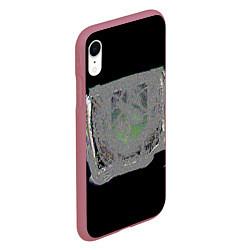 Чехол iPhone XR матовый The International 2018 цвета 3D-малиновый — фото 2