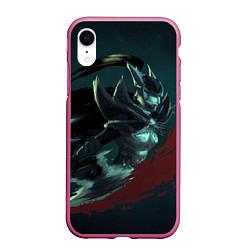 Чехол для iPhone XR матовый с принтом Phantom Assassin, цвет: 3D-малиновый, артикул: 10065049105903 — фото 1