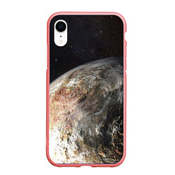 Чехол iPhone XR матовый Плутон цвета 3D-баблгам — фото 1