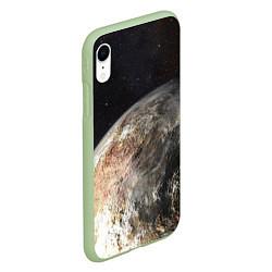 Чехол iPhone XR матовый Плутон цвета 3D-салатовый — фото 2