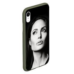 Чехол iPhone XR матовый Mono Jolie цвета 3D-темно-зеленый — фото 2