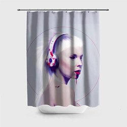 Шторка для душа Die Antwoord: Wild Eyes цвета 3D-принт — фото 1