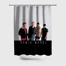 Шторка для душа Tokio Hotel цвета 3D — фото 1