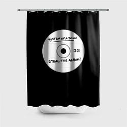 Шторка для душа SOAD: Steal this album цвета 3D-принт — фото 1