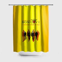 Шторка для душа Bon Jovi Band цвета 3D — фото 1