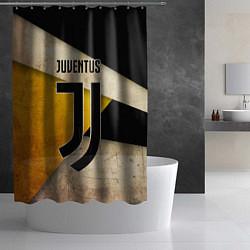 Шторка для душа FC Juventus: Old Style цвета 3D — фото 2