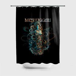 Шторка для душа Meshuggah: Violent Sleep цвета 3D — фото 1