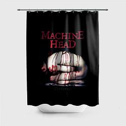 Шторка для душа Machine Head: Catharsis цвета 3D-принт — фото 1