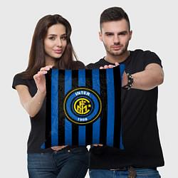 Подушка квадратная Inter FC 1908 цвета 3D-принт — фото 2