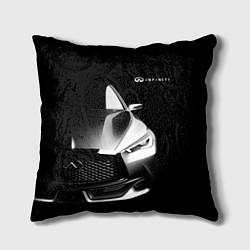 Подушка квадратная Infiniti Sport цвета 3D — фото 1