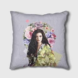 Подушка квадратная Lorde Floral цвета 3D — фото 1