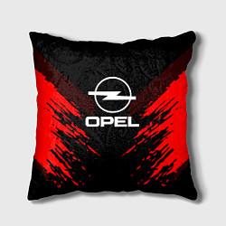 Подушка квадратная Opel: Red Anger цвета 3D-принт — фото 1