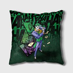 Подушка квадратная Joker Games цвета 3D-принт — фото 1