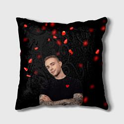 Подушка квадратная Егор Крид цвета 3D-принт — фото 1