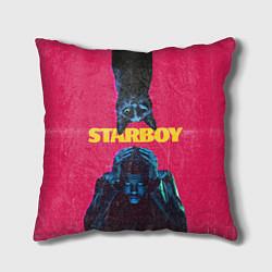 Подушка квадратная STARBOY цвета 3D-принт — фото 1