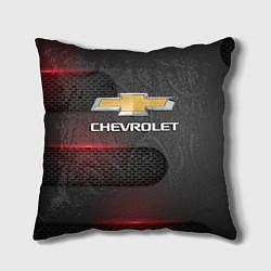 Подушка квадратная CHEVROLET цвета 3D-принт — фото 1