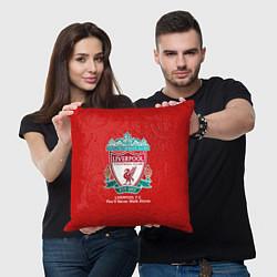 Подушка квадратная Liverpool цвета 3D — фото 2