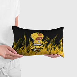 Подушка-антистресс BRAWL STARS SALLY LEON цвета 3D — фото 2