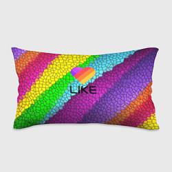 Подушка-антистресс LIKE цвета 3D-принт — фото 1