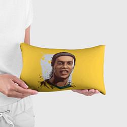 Подушка-антистресс Ronaldinho Art цвета 3D-принт — фото 2