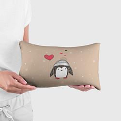 Подушка-антистресс Пингвин с шариком цвета 3D-принт — фото 2