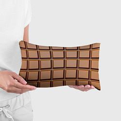 Подушка-антистресс Шоколад цвета 3D — фото 2