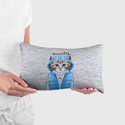 Подушка-антистресс Модная киска цвета 3D — фото 2