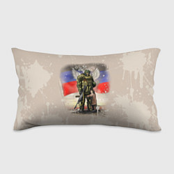 Подушка-антистресс Солдат и дитя цвета 3D — фото 1