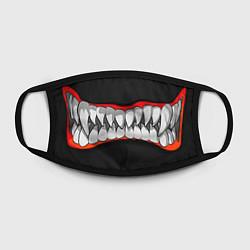 Маска для лица Зубы монстра цвета 3D — фото 2