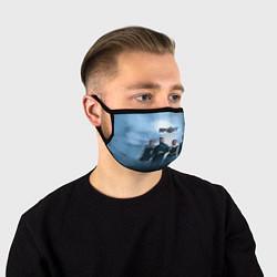 Маска для лица Skillet: Smoke цвета 3D — фото 1