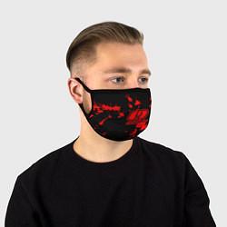 Маска для лица OOMPH! цвета 3D-принт — фото 1