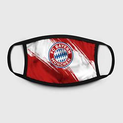 Маска для лица ФК Бавария цвета 3D-принт — фото 2