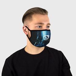 Маска для лица HALF-LIFE 2 цвета 3D-принт — фото 1