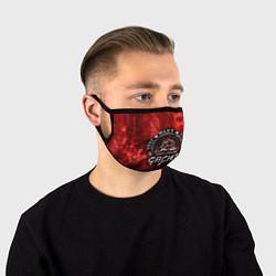 Лицевая защитная маска с принтом True Man's Sport акварель, цвет: 3D, артикул: 10204439505881 — фото 1