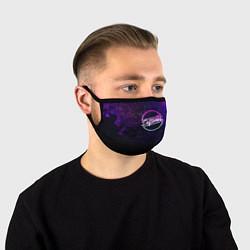 Лицевая защитная маска с принтом Deftones Neon logo, цвет: 3D, артикул: 10210615105881 — фото 1