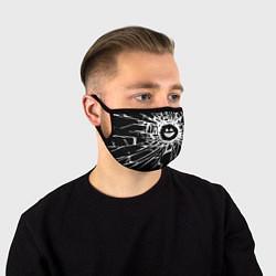 Маска для лица BLACK MIRROR цвета 3D — фото 1