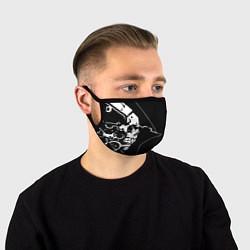 Маска для лица DEATH STRANDING цвета 3D — фото 1