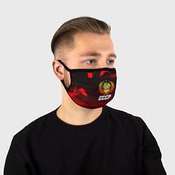 Маска для лица СССР цвета 3D — фото 1