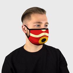 Маска для лица ПРИНЦЕССА МОНОНОКЕ цвета 3D-принт — фото 1