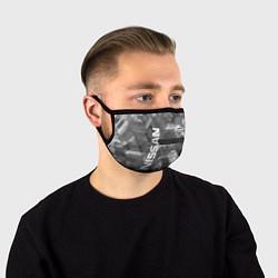 Маска для лица NISSAN цвета 3D — фото 1